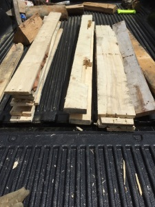 sorted pallet pieces